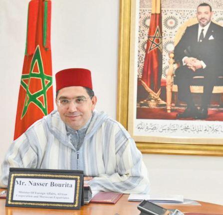 Nasser Bourita s'entretient avec ses homologues koweïtien, qatari et indonésien