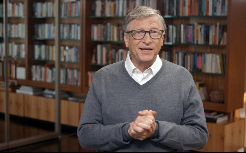 Bill Gates, légende de l'informatique devenu milliardaire philanthrope