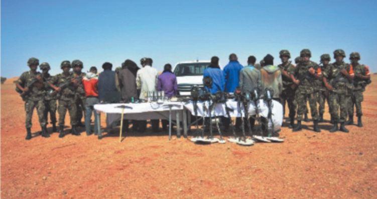 L'armée algérienne tire sur les Sahraouis