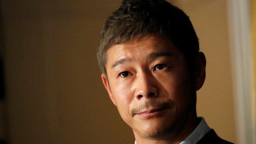 Yusaku Maezawa, le milliardaire spationaute japonais ami des artistes
