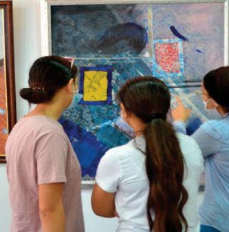 """""""40 ans de recherche et de créativité"""" , une exposition hors normes de l'artiste Mohamed Larbi Leka"""