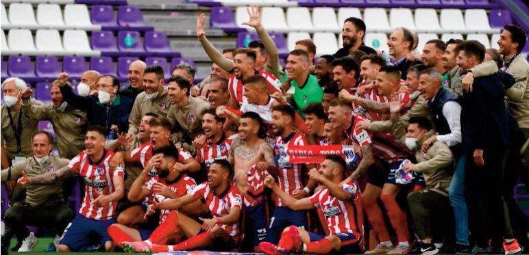 L'Atlético brise l'hégémonie du Real et du Barça en Liga