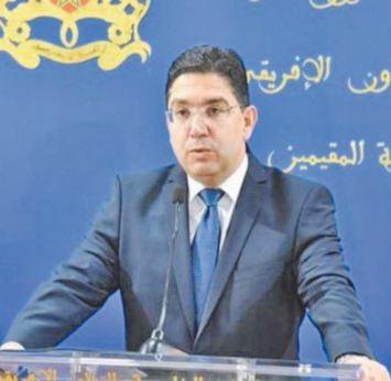 Soutien à la marocanité de nos provinces sahariennes et à l'exclusivité du rôle des Nations Unies