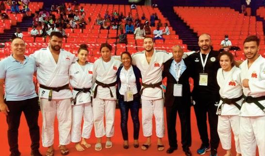 Le Maroc remporte la médaille de bronze par équipes mixtes
