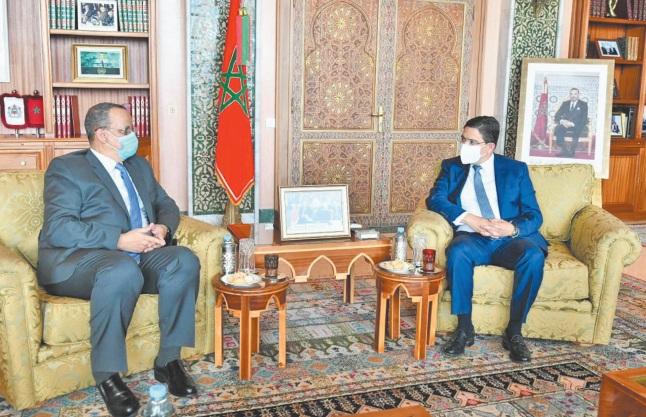 Le président mauritanien adresse un message à S.M le Roi