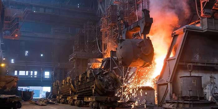 Légère baisse des prix dans la métallurgie