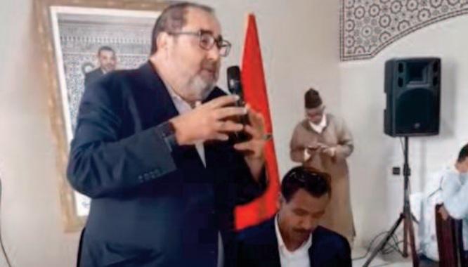 Driss Lachguar devant les militants de l'USFP à Tinghir: Les idées et les valeurs qui nous animent au sein de l'USFP trouvent écho dans le modèle de développement présenté à S.M le Roi