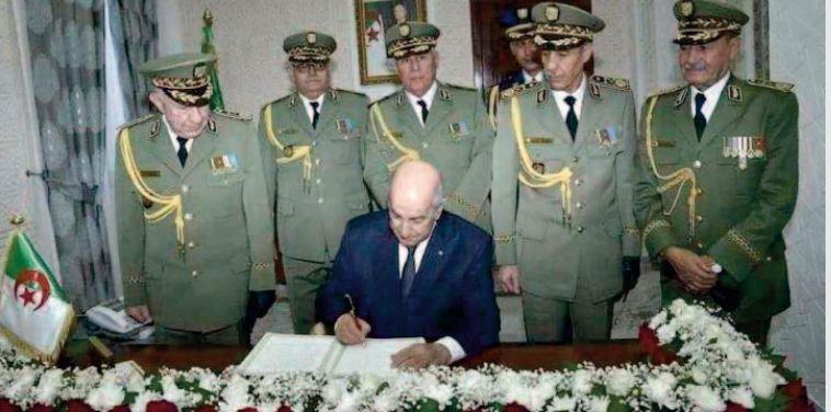 L'illégitimité du pouvoir algérien, installé par l' armée depuis 1962, n ' a pas cessé de se détériorer