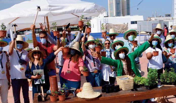 """Attijariwafa bank annonce un """"Green Day """" pour faire découvrir l' agriculture urbaine"""