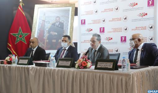 Le CRI de Laâyoune-Sakia El Hamra signe une convention avec plusieurs partenaires pour encourager l' entrepreneuria