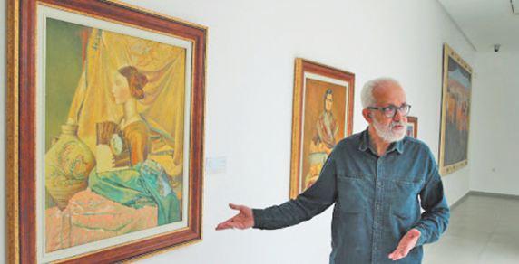 Bouabid Bouzaid, l'artiste tétouanais engagé dans la restauration de tableaux d'art