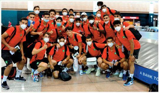 L'EN U20 au Caire
