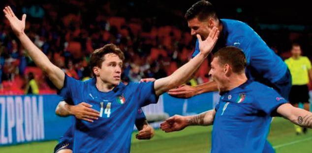 EURO 2021. Pour l'Italie, la lumière est venue de Chiesa