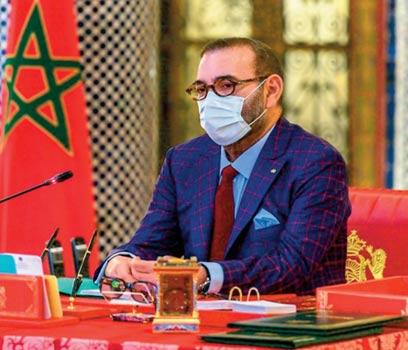 S.M le Roi préside un Conseil des ministres