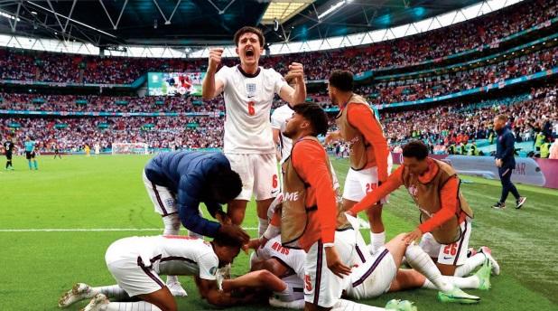 EURO 2021: Angleterre et Ukraine complètent les quarts