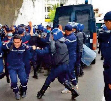 La répression brutale des manifestations par le régime des généraux en Algérie dénoncée devant le CDH