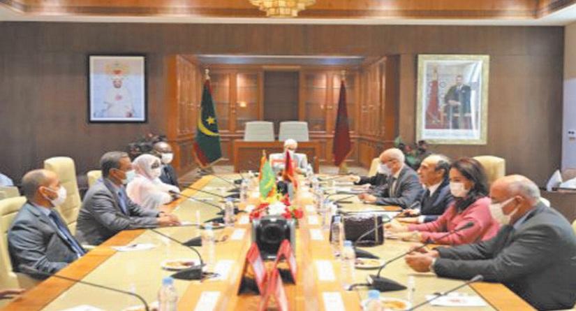 Volonté commune du Maroc et de la Mauritanie de renforcer leur coopération