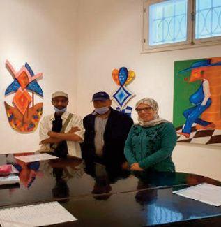 """une exposition collective célébre l'authenticité et la splendeur de """"l'art des Mogadoriens"""""""