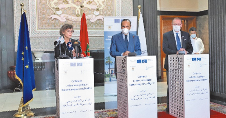 """Lancement officiel du projet """"Appui au développement du rôle du Parlement dans la consolidation de la démocratie au Maroc """""""