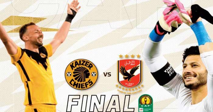 Al Ahly-Kaizer Chiefs pour une finale show à Casablanca