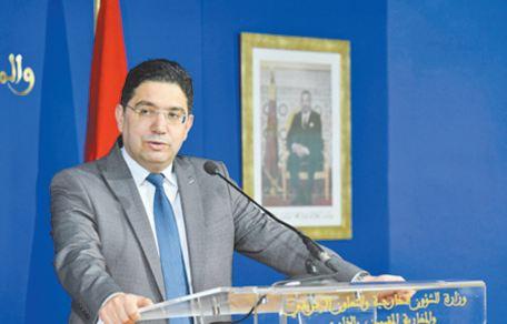Nasser Bourita : L'inauguration de consulats de pays africains au Sahara est le fruit de la vision éclairée de S.M le Roi