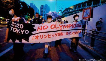 Les opposants japonais aux Jeux impuissants mais toujours en colère