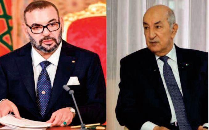 Message de condoléances et de compassion de S.M le Roi au Président algérien suite aux incendies de forêts qui ont fait plusieurs victimes