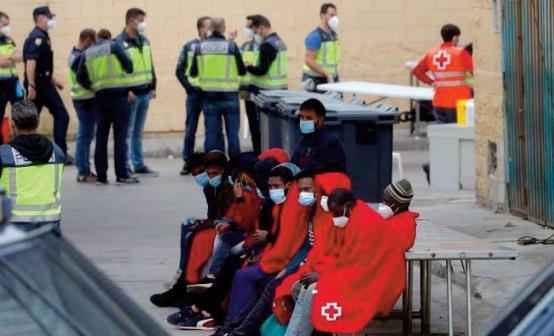 Madrid refoule les mineurs à tout va
