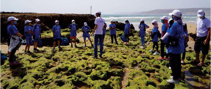 Les déchets aquatiques proviennent à 80% de l'intérieur des terres