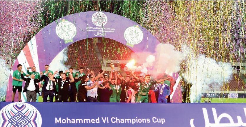 Le Raja s'adjuge haut la main la Coupe arabe Mohammed VI des clubs champions