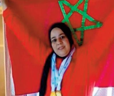 Jeux paralympiques: Du bronze pour Saida Amoudi