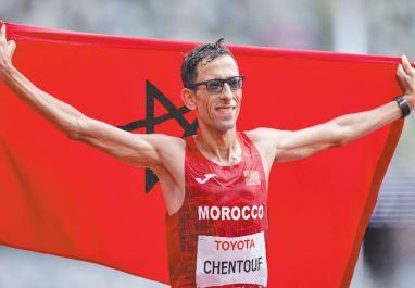El Amin Chentouf rejoint le groupe des couronnés en or