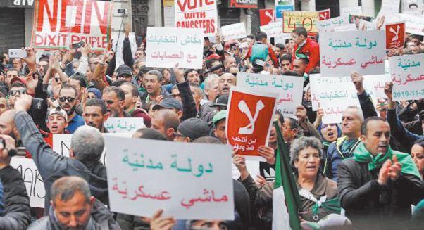 En quête d' un ennemi externe pour masquer les problèmes de la population algérienne …