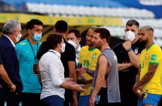 Eliminatoires du Mondial Qatar 2022: Le choc Brésil-Argentine suspendu pour scandale sanitaire