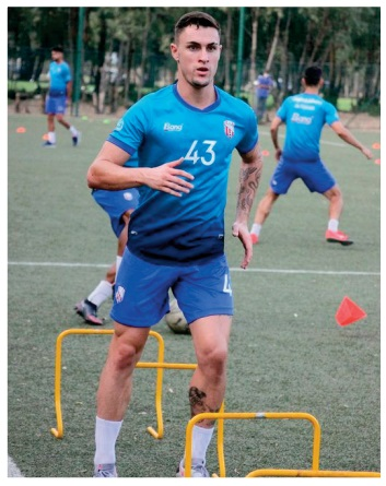 Guillem Rodriguez, de l'équipe réserve du Real Madrid au Moghreb de Tétouan