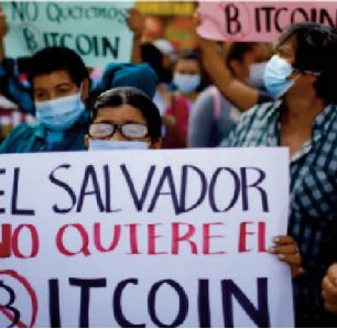 Bitcoin au Salvador:  Curiosité et circonspection