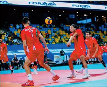 CAN de volley-ball: Le Six national au dernier carré