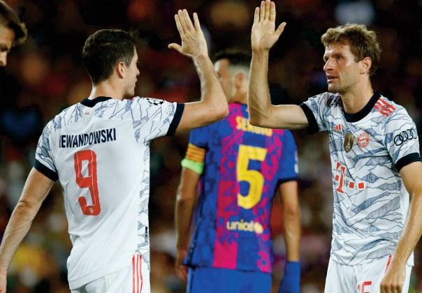Le Barça humilié au Camp Nou par le Bayern