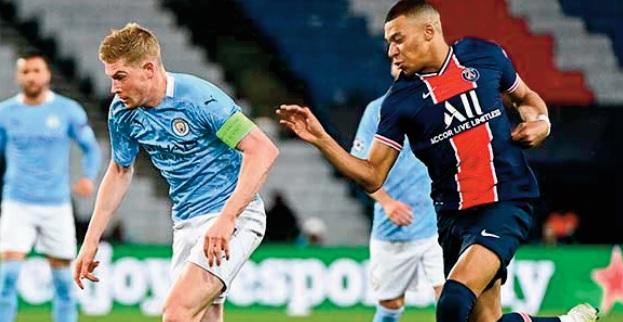 Ligue des champions: PSG-Manchester City, la nouvelle rivalité