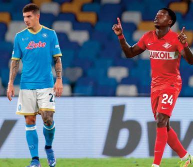 Ligue Europa: Naples tombe à domicile Le Celtic prend l'eau