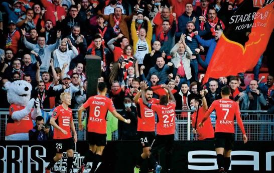 Ligue 1: L'élan du PSG stoppé net en Bretagne
