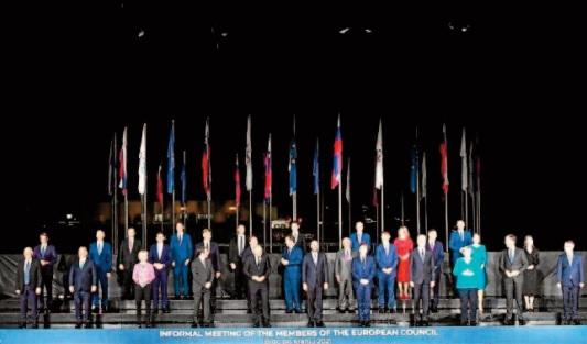 Les dirigeants de l'UE en quête d'influence face à Washington et Pékin