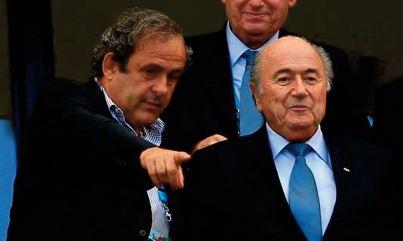 Platini et Blatter se rapprochent d' un procès en Suisse