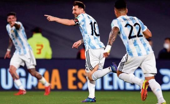 Eliminatoires du Mondial-2022: Messi bourreau de l'Uruguay