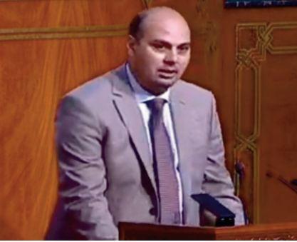 Youssef Aidi, président du Groupe socialiste à la Chambre des conseillers