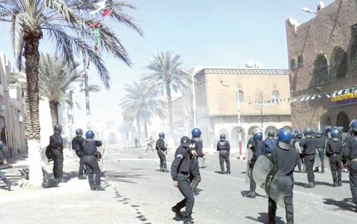 La région de Ghardaïa à feu et à sang
