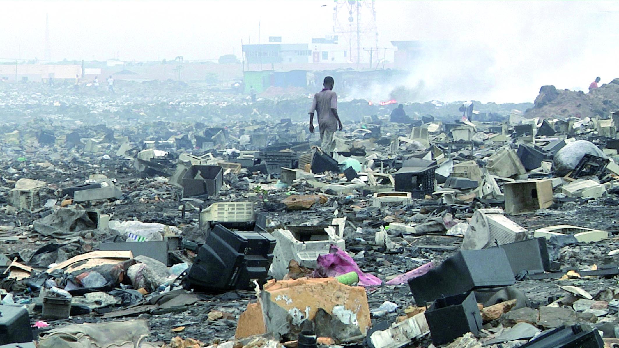 Carton rouge pour le trafic des déchets toxiques en Afrique