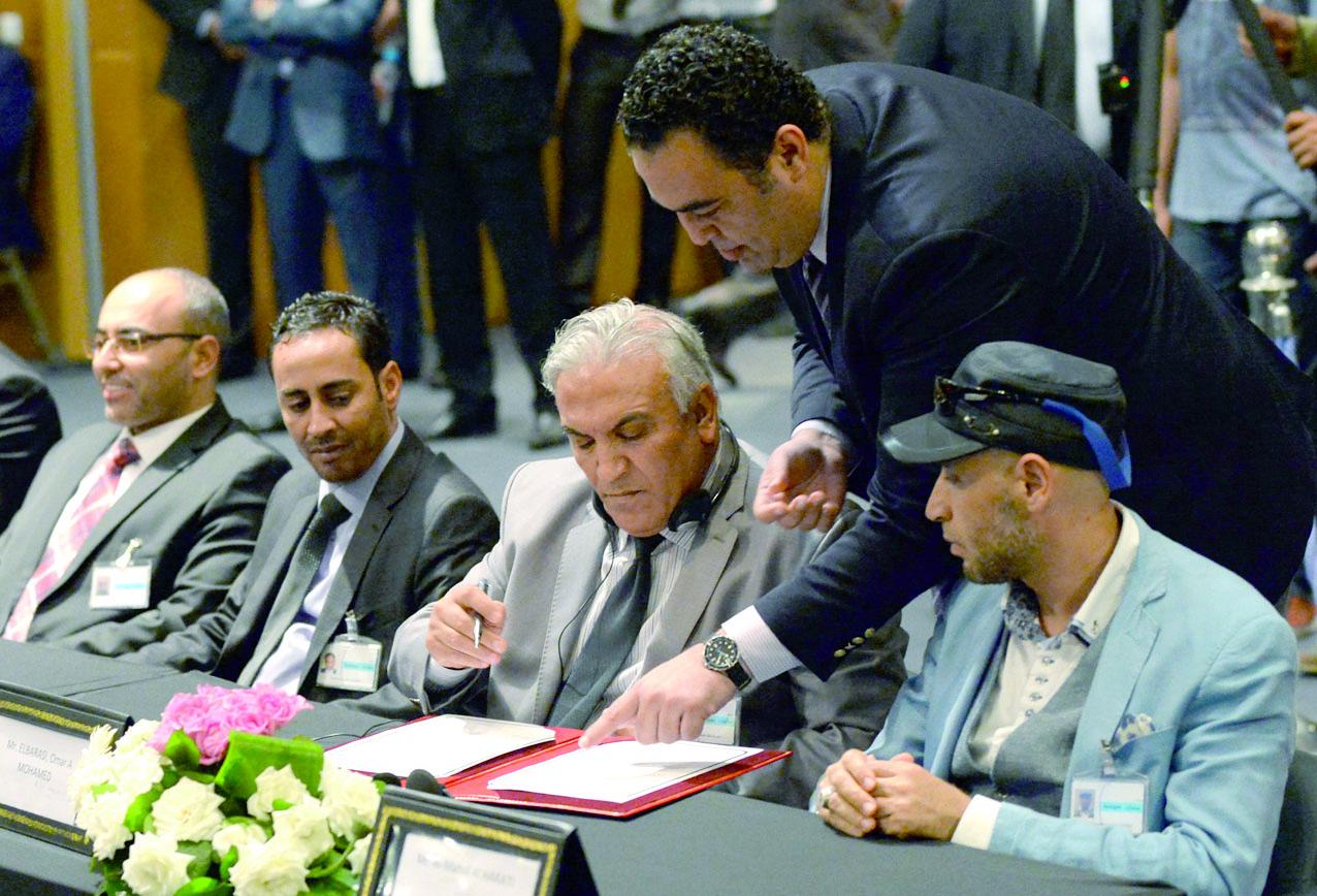 Accord de paix en Libye signé sans le  Parlement de Tripoli