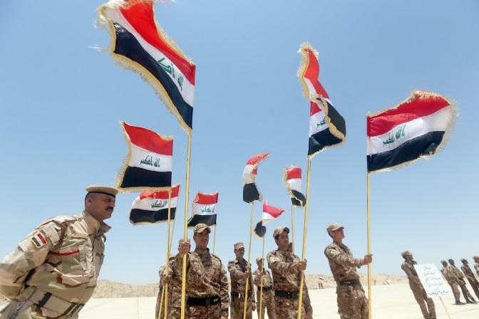 Les forces irakiennes à la reconquête de la province d'Al-Anbar
