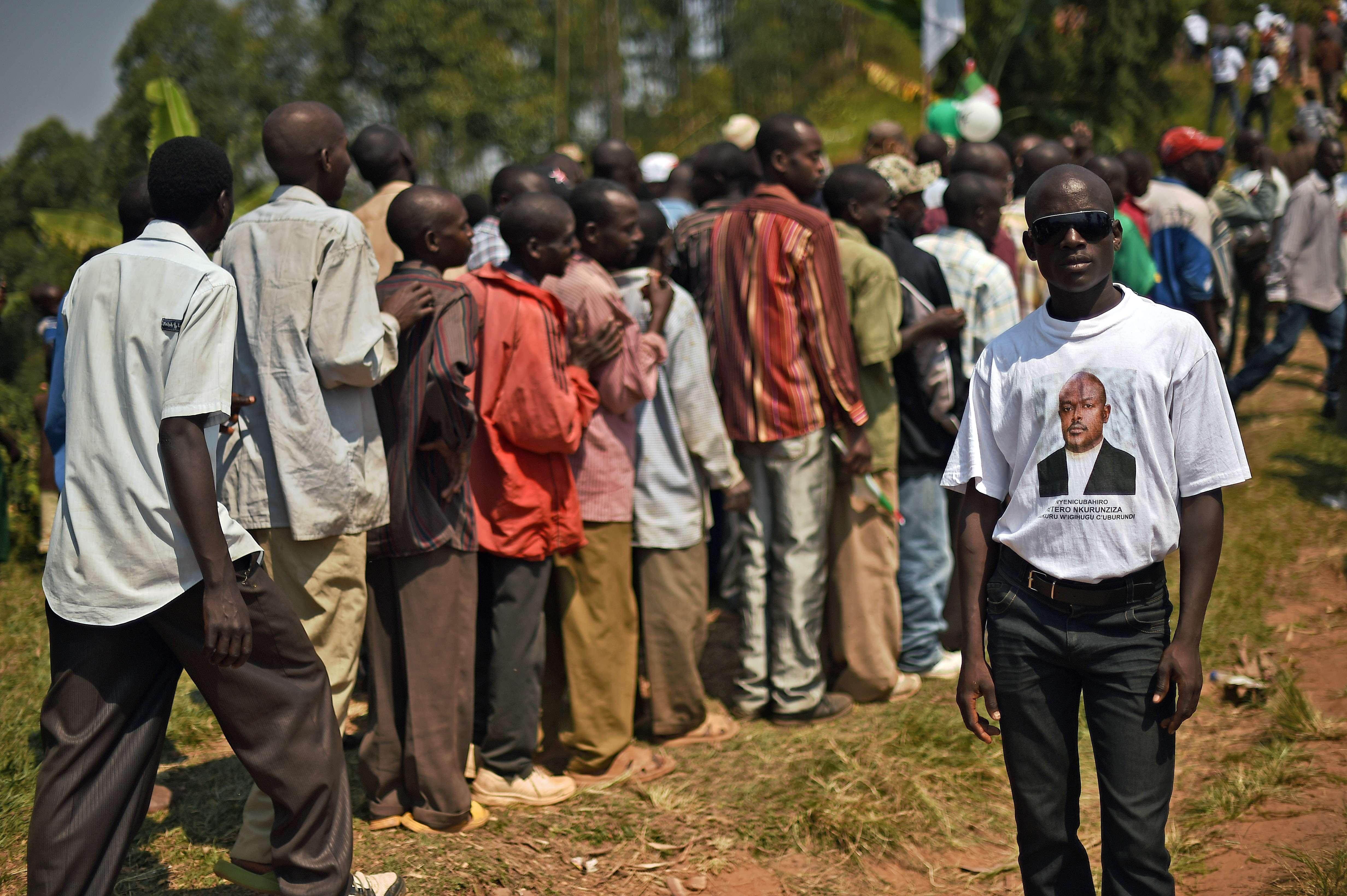 Présidentielle sous haute tension au Burundi